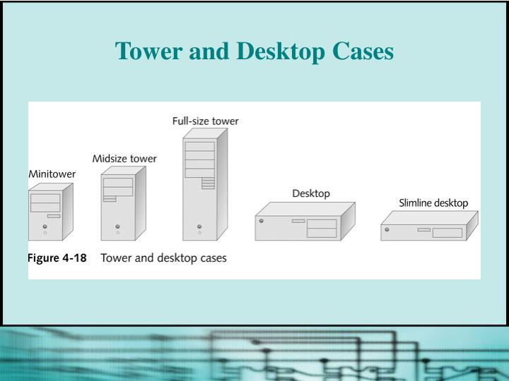 Tower and Desktop Cases