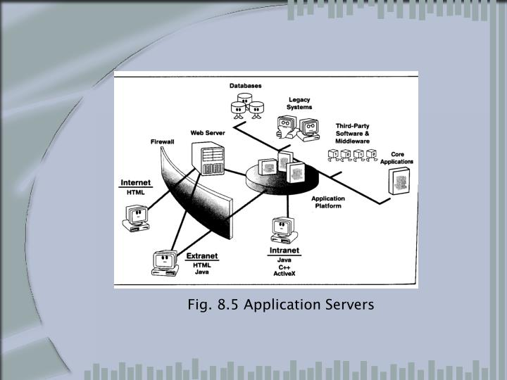 Fig. 8.5 Application Servers