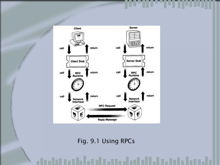 Fig. 9.1 Using RPCs