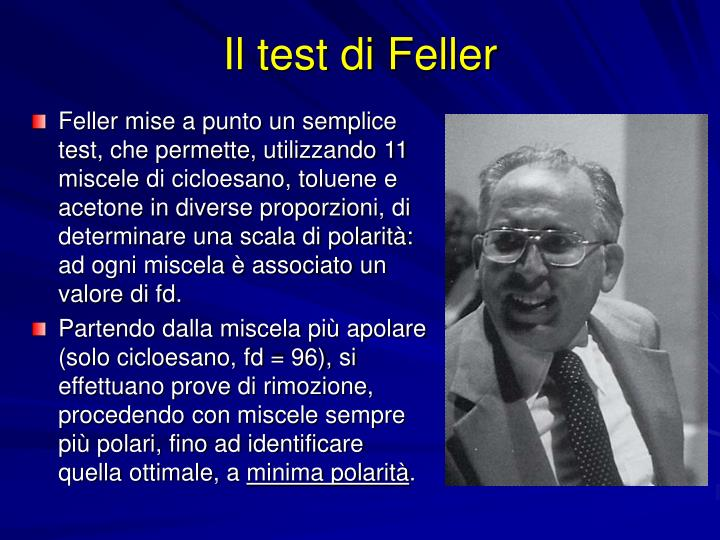 Il test di Feller