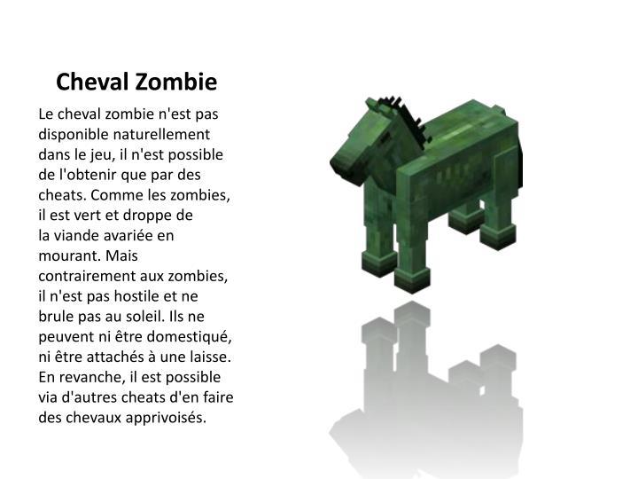 Cheval Zombie