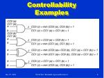 controllability examples