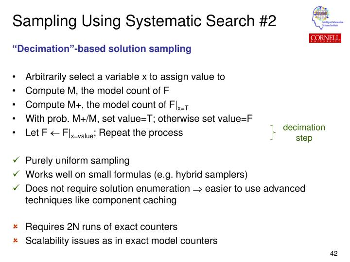 Sampling Using Systematic Search #2