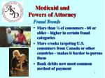 medicaid and powers of attorney1