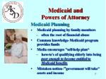 medicaid and powers of attorney11