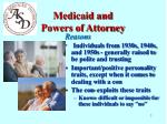 medicaid and powers of attorney3