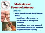 medicaid and powers of attorney4