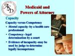 medicaid and powers of attorney7