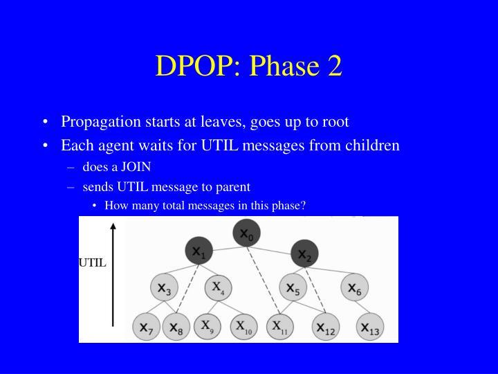DPOP: Phase 2