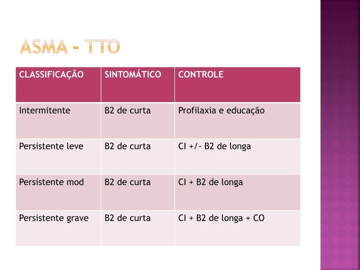 ASMA - TTO