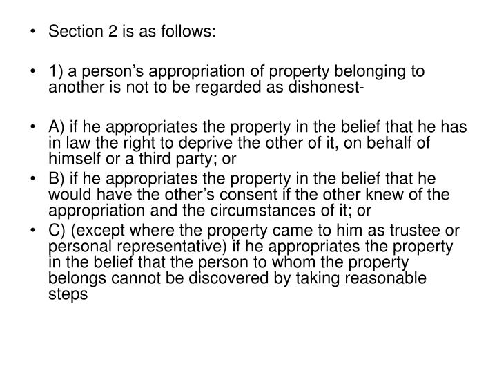 Section 2 is as follows: