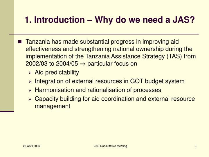 1 introduction why do we need a jas