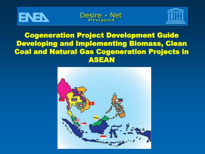 Cogeneration Project Development Guide