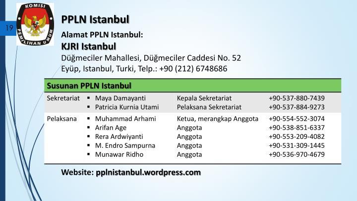 PPLN Istanbul