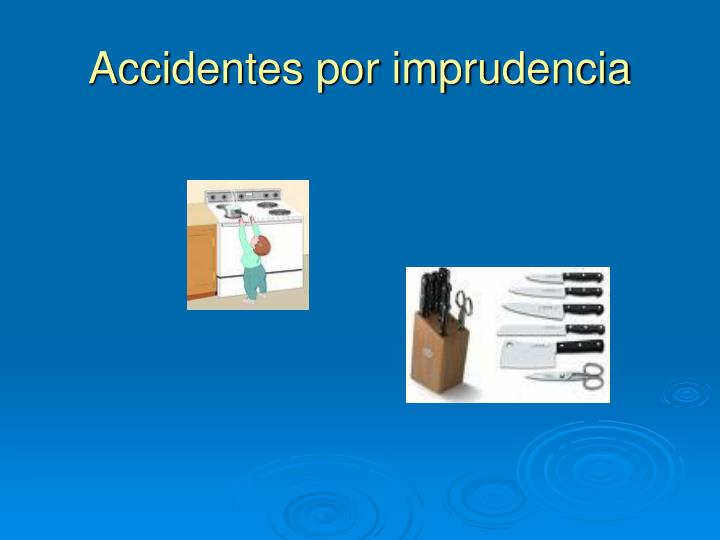 Accidentes por imprudencia