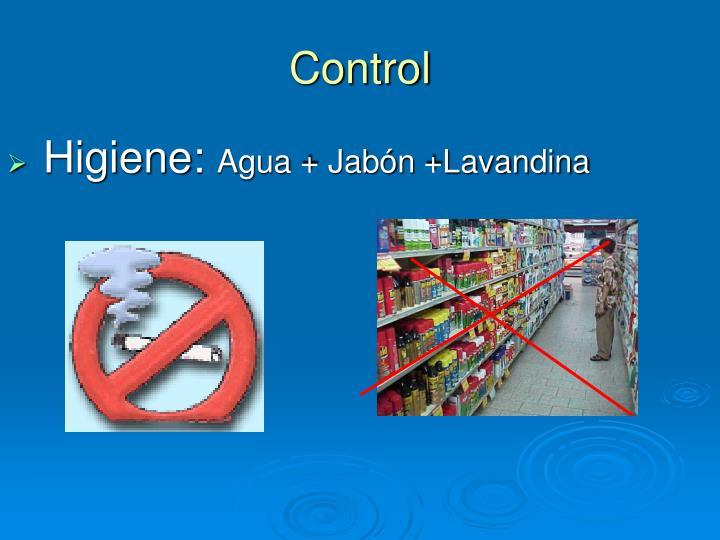 Higiene:
