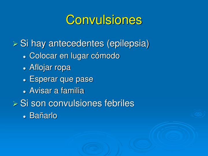Convulsiones