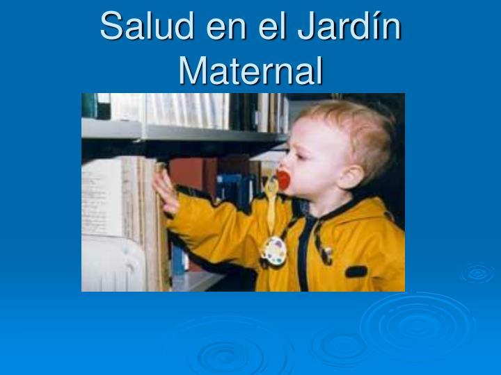 Salud en el Jardín Maternal