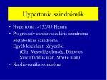 hypertonia szindr m k