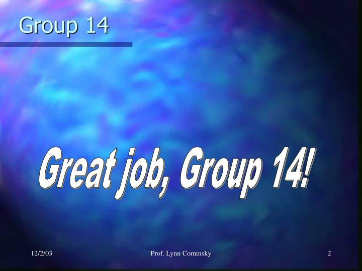 Group 14