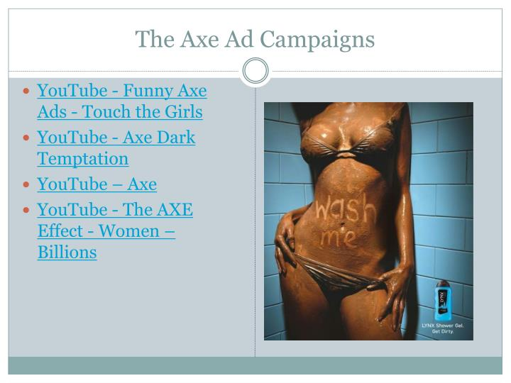 The Axe Ad Campaigns