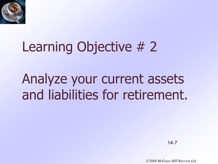 Learning Objective # 2