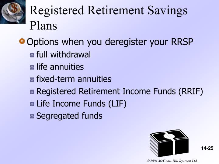 Registered Retirement Savings Plans