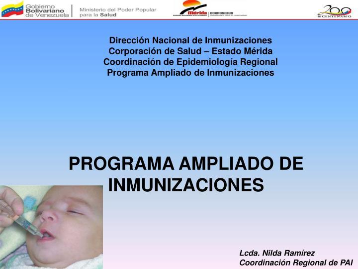 Dirección Nacional de Inmunizaciones