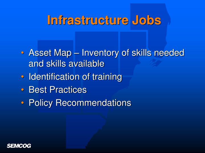 Infrastructure Jobs