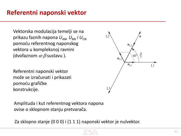 Referentni naponski vektor