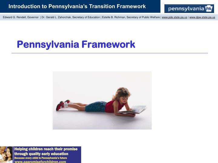 Pennsylvania Framework