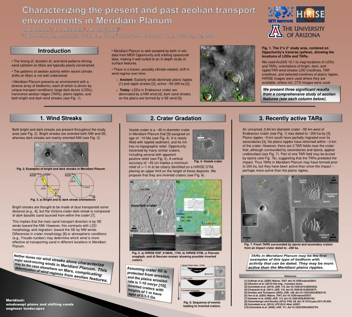 Characterizing the present and past aeolian transport environments in Meridiani Planum
