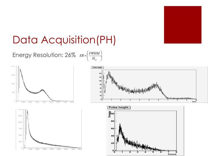 Data Acquisition(PH)