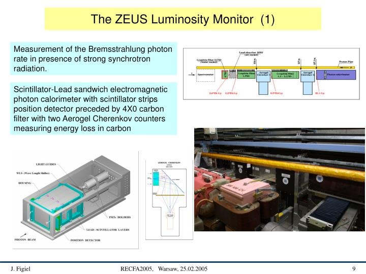The ZEUS Luminosity Monitor  (1)