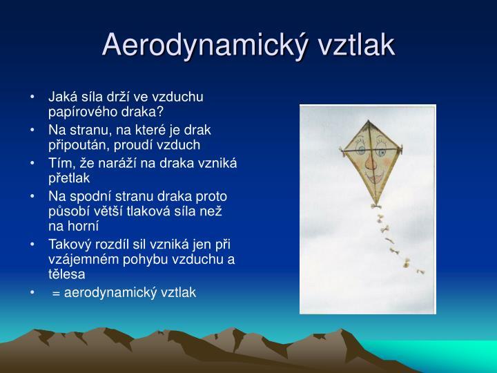 Aerodynamický vztlak