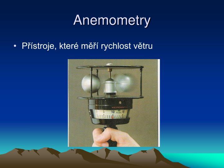 Anemometry