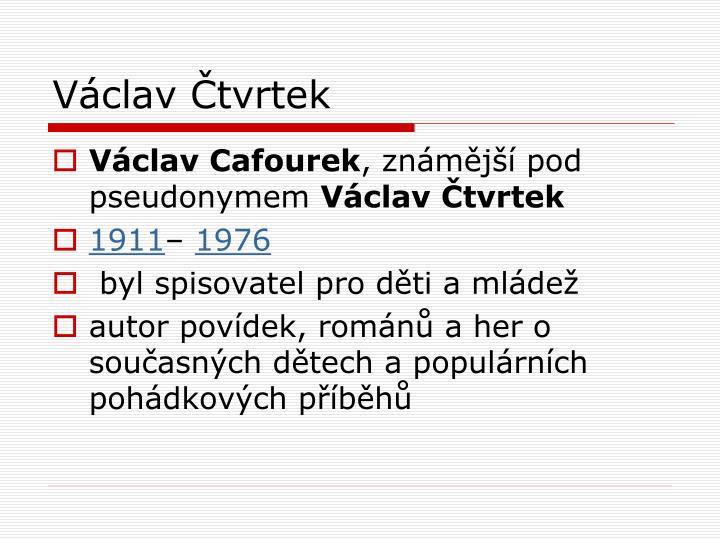 Václav Čtvrtek
