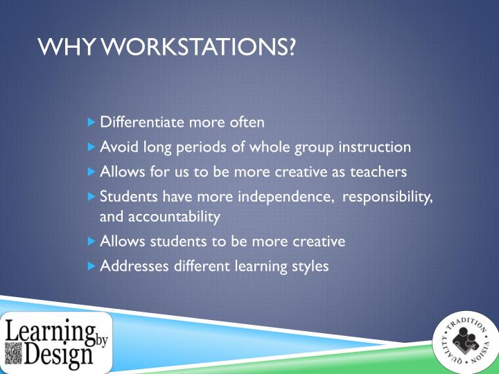 Why Workstations?