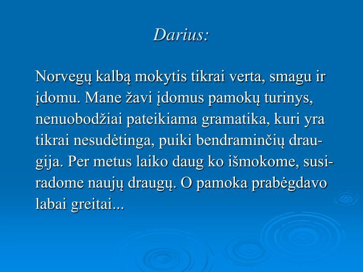 Darius: