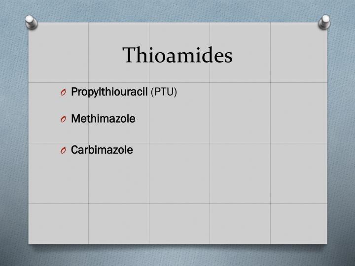Thioamides