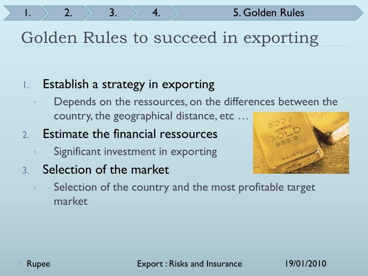 Golden Rules to