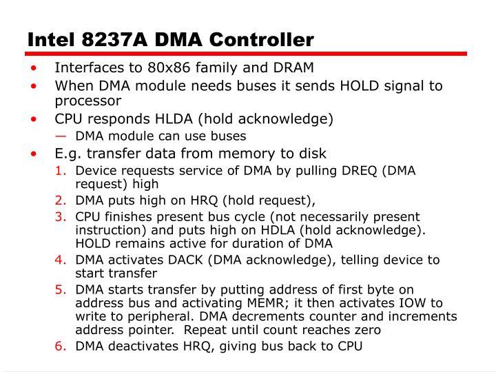 Intel 8237A DMA Controller
