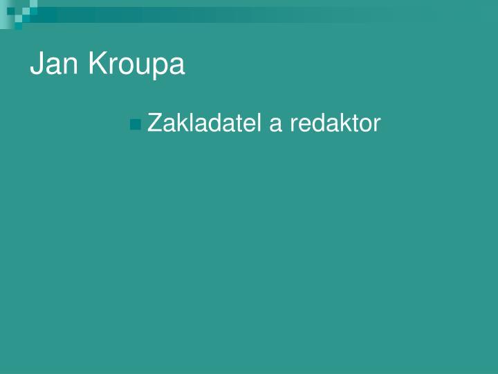 Jan Kroupa