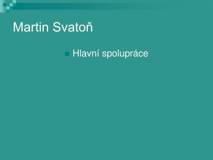 Martin Svatoň