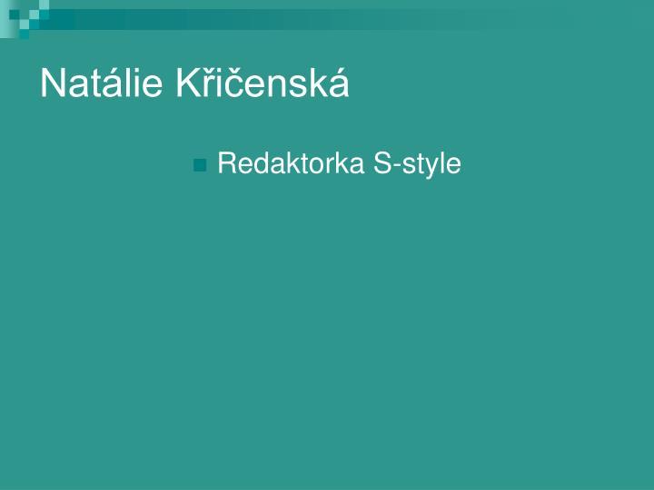 Natálie Křičenská