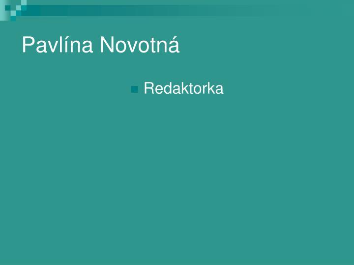 Pavlína Novotná