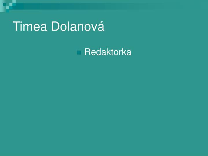 Timea Dolanová