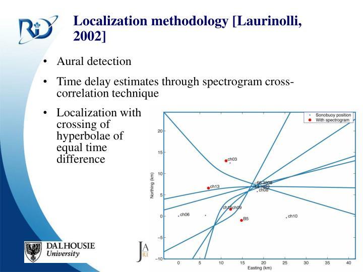 Localization methodology [Laurinolli, 2002]