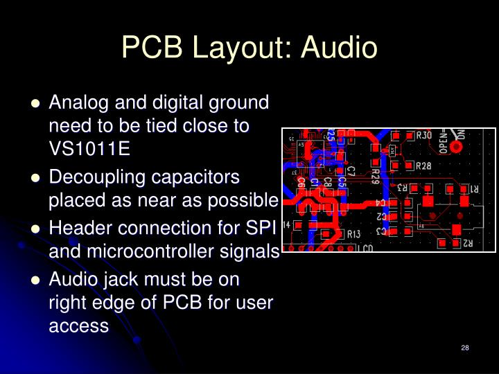 PCB Layout: Audio