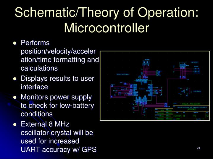 Schematic/Theory of Operation: